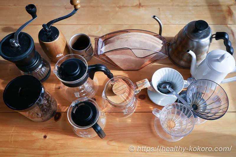 【初心者向け】コーヒー道具の選び方 - 4つの道具でハンドドリップ
