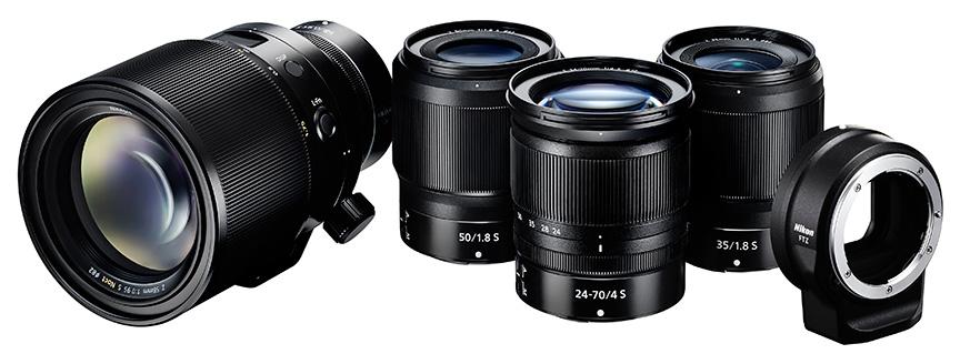 ニコン ミラーレスカメラ用レンズ - 今後の発売予定は?Zマウントレンズ