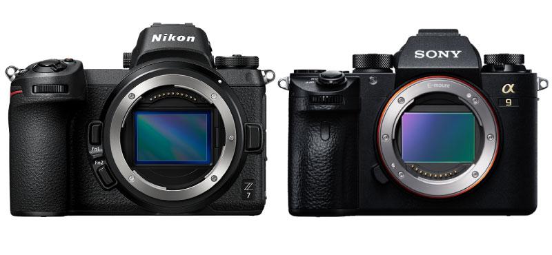 Nikon Z7とSony α9 徹底比較!買って損しないのはどっち?