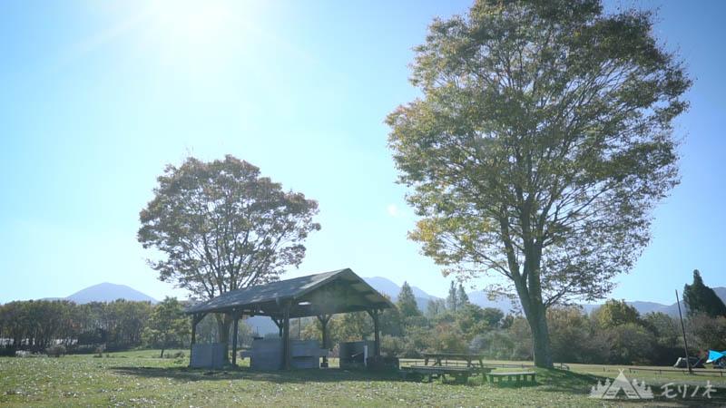 オートキャンプ場 高原の里 炊事棟