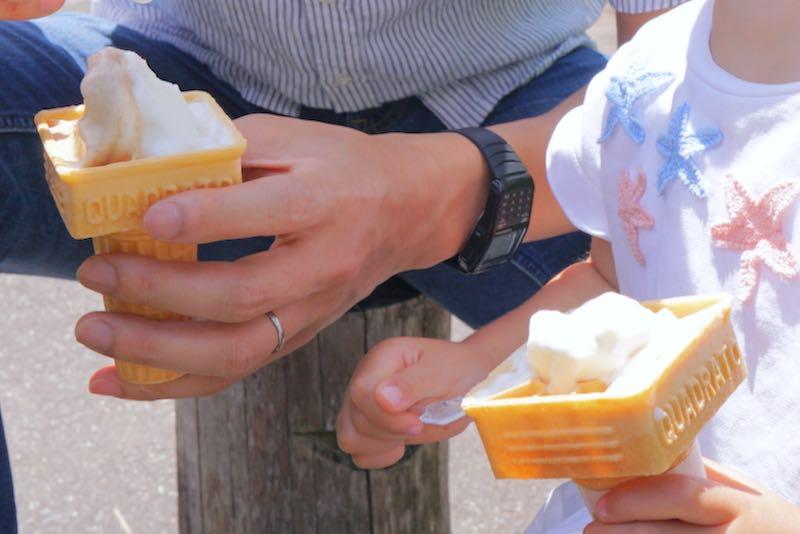 ミルクランドファームのアイス
