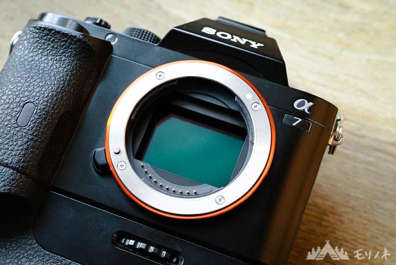 ミラーレスカメラのセンサー