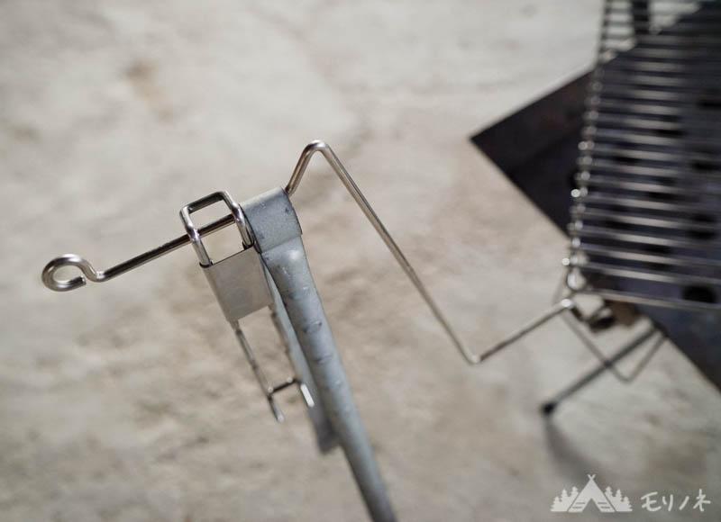 焼き網ハンドルとFGハンガー
