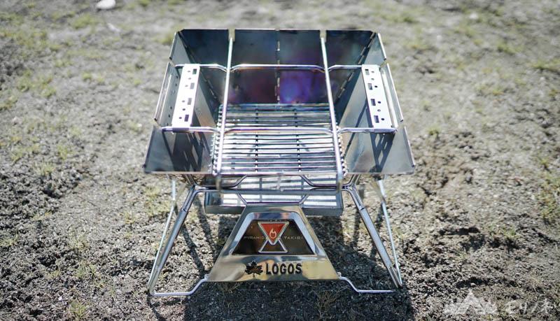 ロゴス焚き火台 ピラミッドTAKIBI