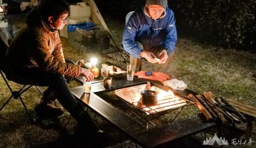 焚き火台のテーブルはどう選ぶ?実用的なテーブルの特徴や選び方