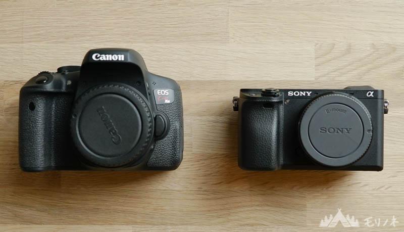 ミラーレスカメラと一眼レフカメラ