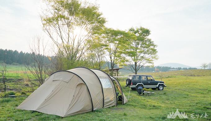 YouTubeでのキャンプ画像