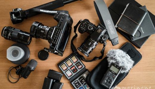 モリノネのYouTube撮影機材 – 2019年に使用していた物