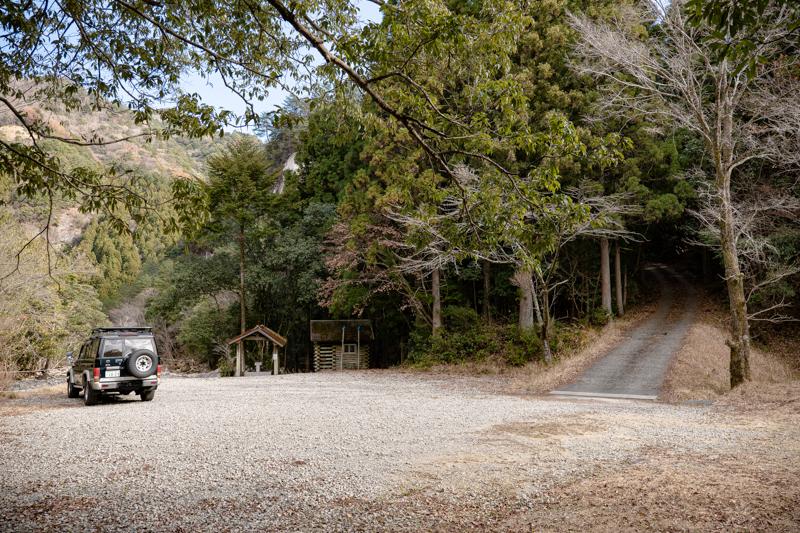 藤河内渓谷キャンプ場 洗い場